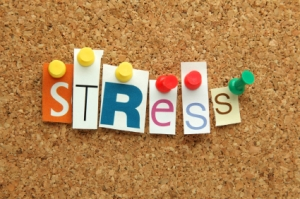 Stress pinned on noticeboard